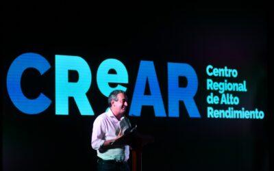Rosario presentó los avances del Centro Regional de Alto Rendimiento Deportivo (CReAR)